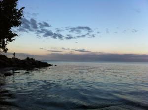 Lago Por do Sol 1
