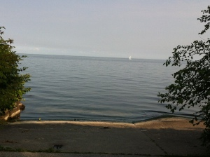 Sunny Lake boat